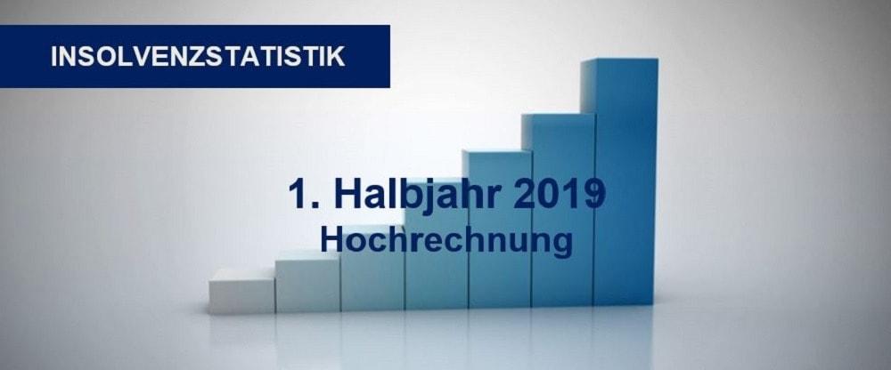 Insolvenzstatistik 1 HJ 2019