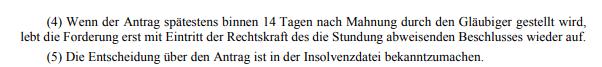 Stundung Zahlungsplanraten §11_2_10.05.21